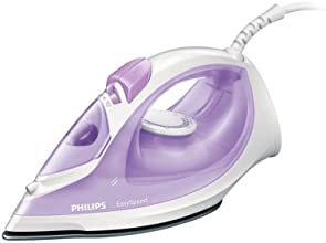 Philips GC1026/30 Dampfbügeleisen (Vertikaldampf, 90 g Dampfstoß, Tropfstopp,  2000 W) violett/weiß