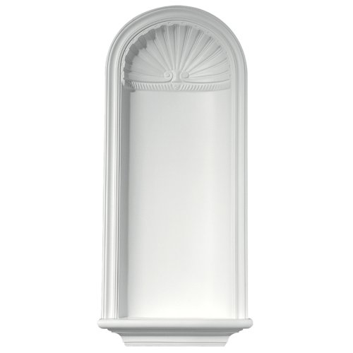 Focal Point 91790 Waverly Niche 16 3/4-Inch by 36 1/2-Inch, Primed White