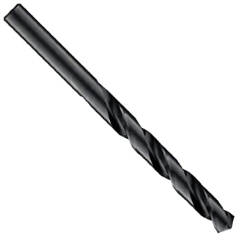 Cleveland 2001G Style High Speed Steel Jobbers' Drill Bit, Black Oxide, 118 Degree Point, Straight Shank