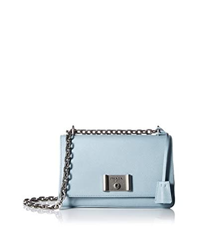 Prada Women's Shoulder Bag, Azzurro