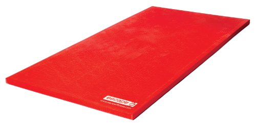 Escape Fitness Combat Mat / Martial Arts MMA Mat with Anti Slip Base - Red