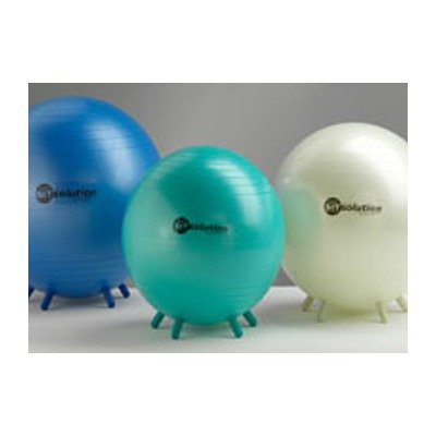 SitSolution Maxafe White Exercise Ball - 55cm