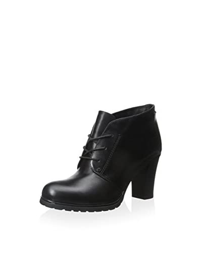 Geox Women's Donna Trish ABX Heel Bootie  [Black]