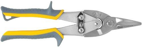 Clauss 18430 Titanium Bonded Aviation Snips - Straight