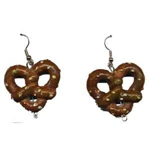 Oktoberfest - Pretzel Earrings Accessory - 1