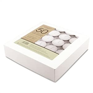 Northern Lights Candles 50-pc. 6 Hour Long-Burning Tealights