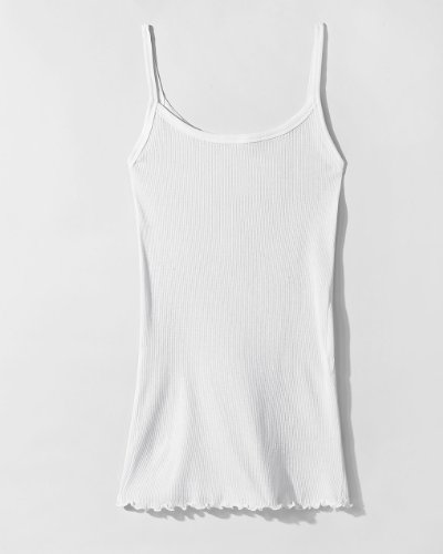 Lightweight Tunic-Length Layering Tank by Spiegel