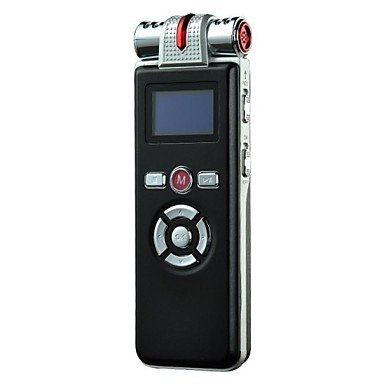 Zcl 8G Professional High-Definition Digital Voice Recorder Dictaphone With Alarm Clock /Mp3 Player Function And Led Screen