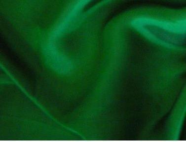 Green Satin Fabric 58