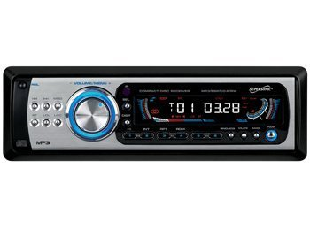 Supersonic Sc-1840M Car Audio With Digital Fold Down Panel And Am/Fm Radio Supersonic Sc-1840M Car