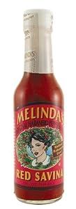 Melindas Red Savina Habanero Sauce 5 Oz