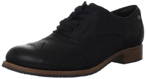 Sebago Women's Claremont Brogue Oxford,Black,8.5 M US