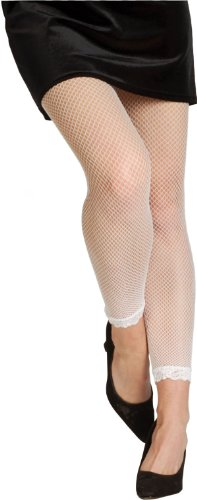 Rubie's Costume Co White Fnet Footless Tight Costume