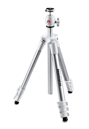 Manfrotto MKCOMPACTLT-WH Compact Tripod (White)