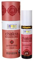 Aura Cacia - Chakra Roll-On Grounding Root .31 Oz