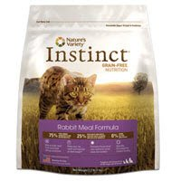 Instinct Grain-Free Rabbit Meal Dry Cat Food Size: 12.1 lb bag