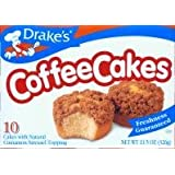 Drake's Cakes Coffee Cake 2 boxes