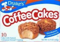 Drake's Cakes Coffee Cake 2 boxes