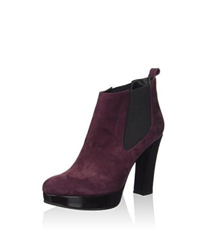 Pollini Chelsea Boot bordeaux/schwarz