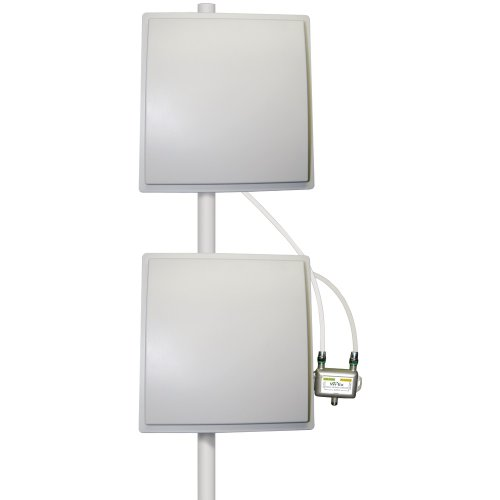 zBoost YX039-PCS-CEL Dual Band Directional Outdoor Receiving Antenna (8 dBi CEL, 3 dBi PCS)