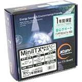 JETWAY/NC81-LF/1660/1G /Mini-ITX組み立てキット (AMD 780G+SB700搭載マザーボード+1GBメモリ+Athlon LE1660セット)