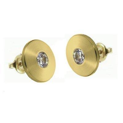 Earrings-Gold-Cubic Zirconia