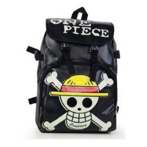 Borsa a tracolla studente Anime One Piece Rufy scuola Cosplay zaino / Skull Bag 03