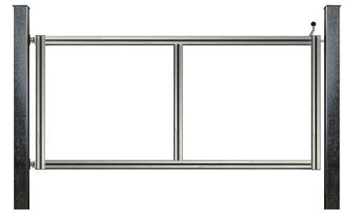 bauer 104095 1 fl glig drehtor bausatz h 80 b 250 mit pfosten verzinkt ohne torbelag. Black Bedroom Furniture Sets. Home Design Ideas