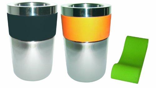 No Name Conservateur color 2 bandeaux orange et vert