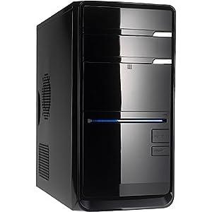 Sehr leiser Office / AllroundPC! shinobee #4379 - DualCore Computer System mit AMD Phenom II X2 511 2x 3400 MHz, 320GB S-ATA HDD, 4GB DDR3 RAM, AMD 760G Mainboard, 1024MB Radeon HD 3000, DVD-ROM, 5.1 Sound, LAN, inkl. Treiber für Windows XP/Vista/7/8