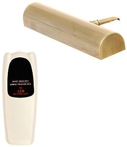 Concept 102L Cordless Remote Control LED Picture Light- 11 1/2 inch Antique Brass