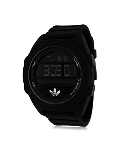 Adidas Men's ADH2907 Calgary Digital Black Watch with Silicone Band