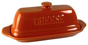 Gourmet Village Bistro Goat Cheese Baker - Orange (Goat Cheese Baker compare prices)