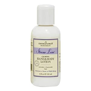 Aromafloria Stress Less 4.0 oz Hand & Body Lotion