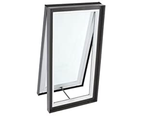 Velux vcm curb mount manual venting skylight 34 x 34 for Velux solar blinds installation instructions