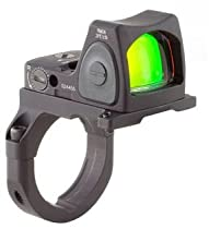 Trijicon RM06-38 RMR 3.25 MOA Adjustable LED Red Dot Sight with RM38 Full Size ACOG Mount without Bosses