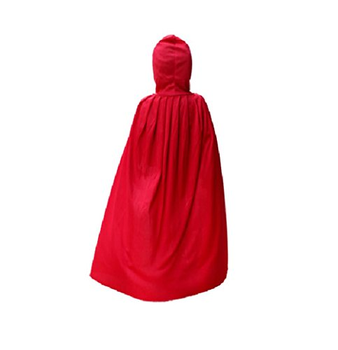 Nine States Adults' Hoop Cloak Middle Red