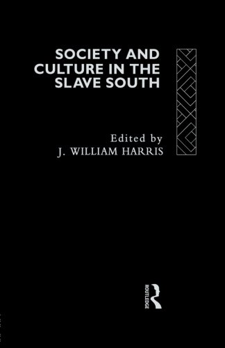 Society and Culture in the Slave South (Rewriting Histories)
