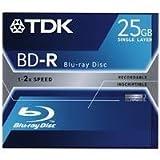 TDK BD-R 25GB Blu-ray Disc Jewel Case