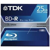 TDK Rohling Blue Ray BD-R 25GB einmal beschr