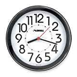 Lorell Products - Wall Clock, 9
