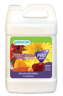 1 Qt. - Pure Blend Pro Bloom - Bloom Stimulator - Hydroponic Nutrient Solution - 2-3-5 Npk Ratio - Botanicare 718450