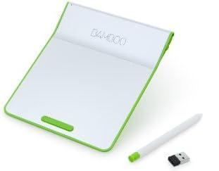 wacomペン付きタッチパッド ワイヤレス Bamboo Pad グリーン CTH300E