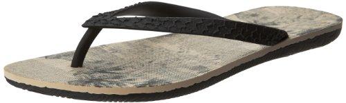 Ipanema Men'S Rj Thong Sandal,Black/Black,12 M Us front-968498