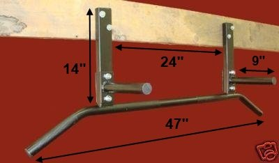 chin up bar basement joist mount chin pull up bar