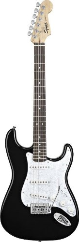 Squier by Fender Stop Dreaming-Start Playing Set: SE Special w/ Squier by Fender SP10 Amplifier, Black