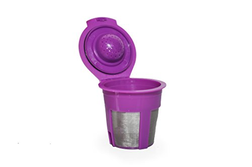 Reusable K-Cup Coffee Pod Filter for Home Restaurant Coffee and French Press Espresso for Instant Coffee and Loose Tea Infuser in Keurig Compatible Brewers (Keurig Reusable Espresso Filter compare prices)