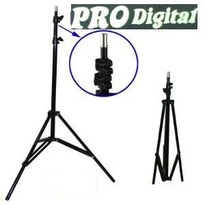 Cavalletto Stativo Foto Studio Video Professionale Pro-Digital 1509/957 con Ammortizzatori Indicato per Flash Illuminatori oppure@ Luci Palco