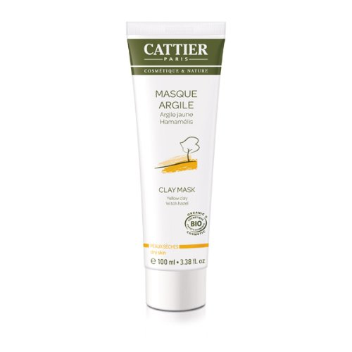 Cattier Masque Argile Jaune Hamamélis 100 ml