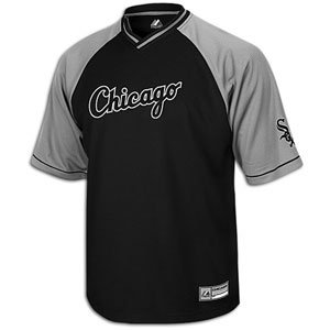 White Sox Majestic Full Force V-Neck Jersey - Men's
